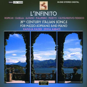 L'Infinito: 20th Century Italian Songs for Mezzo-soprano and Piano